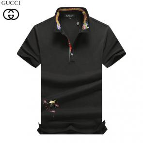 gucci hommes unisex gucci polo t-shirt dragon black